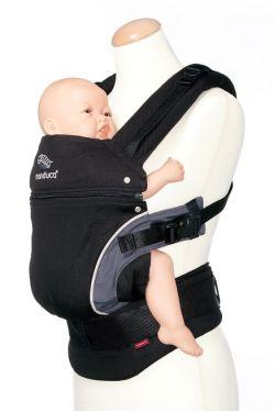 Эрго-рюкзак Мандука, цвет черный (black)