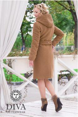 пальто Diva Outerwear Camello