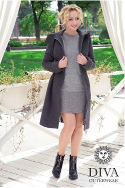 Слингопальто Diva Outerwear Antracite