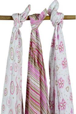 Комплект муслиновых пеленок для новорожденных Jollein, Flower girl