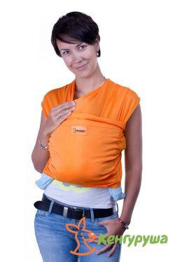 Слинг-шарф Кенгуруша Style, апельсин