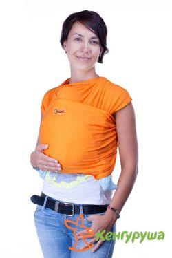 Слинг-шарф Кенгуруша Classic, апельсин
