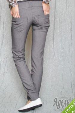 брюки для беременных черные