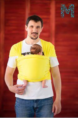 "Слинг-шарф Modamam трикотажный ""Yellow"""