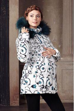 Зимняя куртка для беременных Чезана