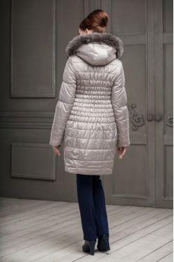 пальто для беременных Валери светло-бежевое
