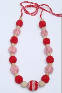 Слингобусы розово-красные