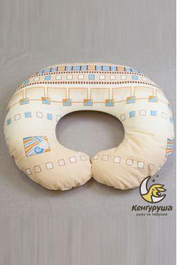 """Наволочка на подушку для кормления Кенгуруша  """"Каникулы-Египет"""""""