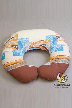 """Наволочка на подушку для кормления Кенгуруша """"Каникулы-Тунис"""""""