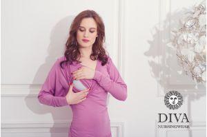 Платье для кормящих Diva Nursingwear Paola, цвет Antico