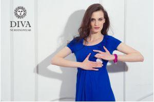 Платье для кормящих Diva Nursingwear Dalia, цвет Azzurro