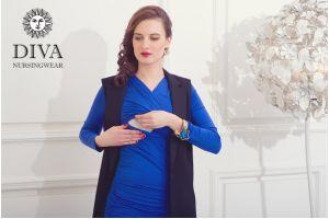 Платье для беременных Diva Nursingwear Lucia, цвет Azzurro