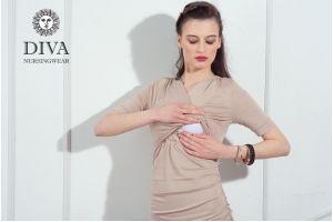 Платье для беременных Diva Nursingwear Lucia, цвет Grano