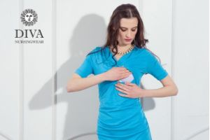 Платье для беременных Diva Nursingwear Lucia, Celeste