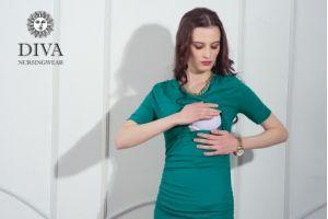 Платье для беременных Diva Nursingwear Lucia, Smeraldo