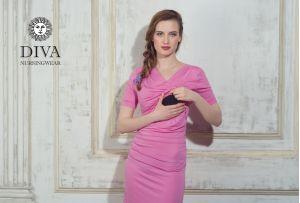 Платье для кормящих Diva Nursingwear Lucia, цвет Rose