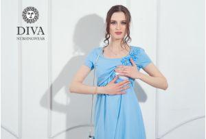 Платье для кормящих Diva Nursingwear Dalia,  цвет Celeste