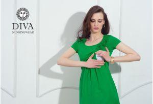 Платье для кормящих Diva Nursingwear Dalia, цвет Aloe