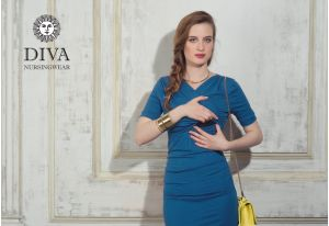 Платье для беременных Diva Nursingwear Lucia, цвет Notte