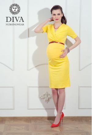 Платье для беременных Diva Nursingwear Lucia, Limone