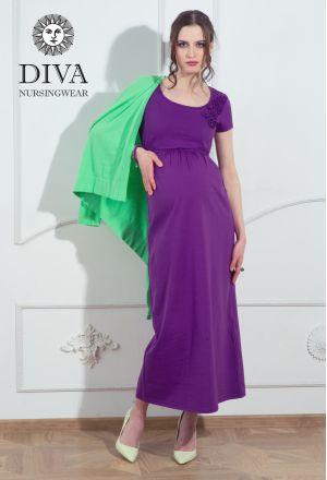 Платье для беременных Diva Nursingwear Dalia, цвет Viola