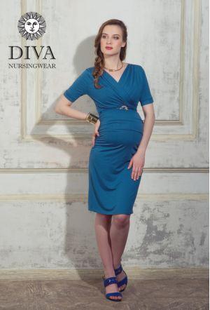 Платье для беременных и кормящих Diva Nursingwear Lucia, цвет Notte