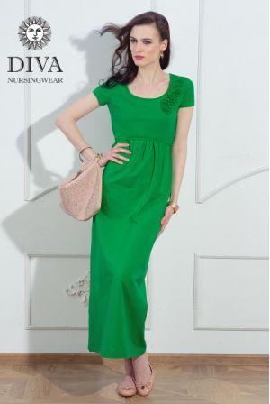 Платье для беременных Diva Nursingwear Dalia, цвет Aloe