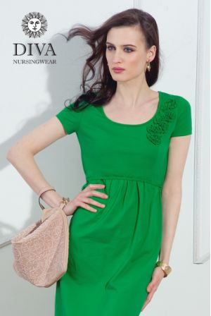 платье Diva Nursingwear Dalia, цвет Aloe