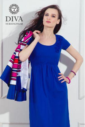 платье Diva Nursingwear Dalia, цвет Azzurro
