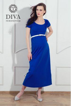Платье для беременных Diva Nursingwear Dalia, цвет Azzurro