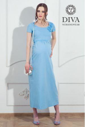 Платье для беременных Diva Nursingwear Dalia,  цвет Celeste