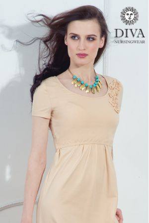 платье Diva Nursingwear Dalia, цвет Grano