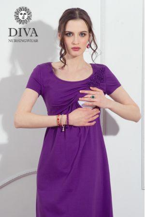 Платье для кормящих Diva Nursingwear Dalia, цвет Viola