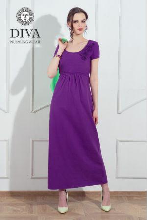 Платье для беременных и кормящих Diva Nursingwear Dalia, цвет Viola