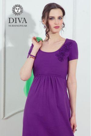 платье Diva Nursingwear Dalia, цвет Viola