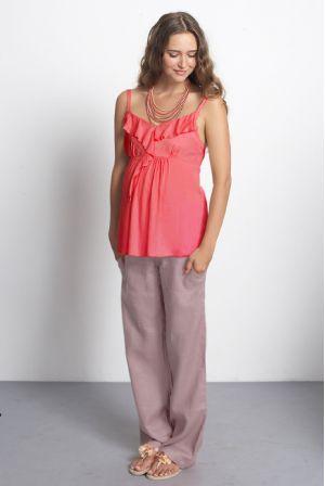 "Блуза Mothers en Vogue ""Frills & Grace"" розовая"