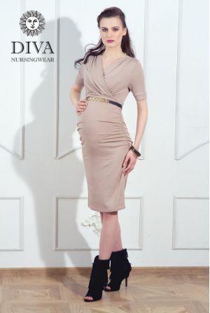 Платье для беременных Diva Nursingwear Lucia, Grano