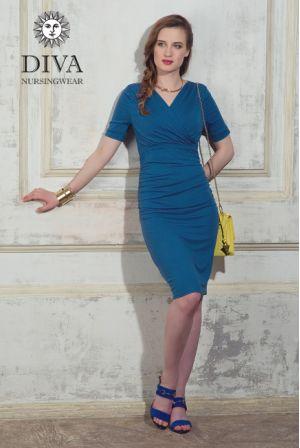 Платье для беременных Diva Nursingwear Lucia, Notte