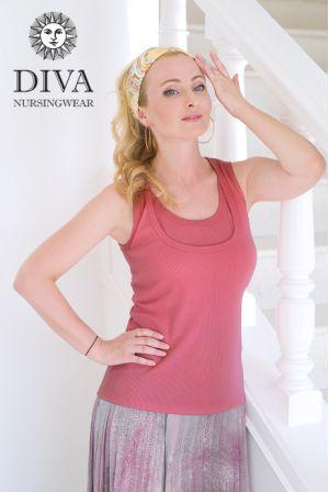 Топ для беременных Diva Nursingwear Eva, цвет Corallo
