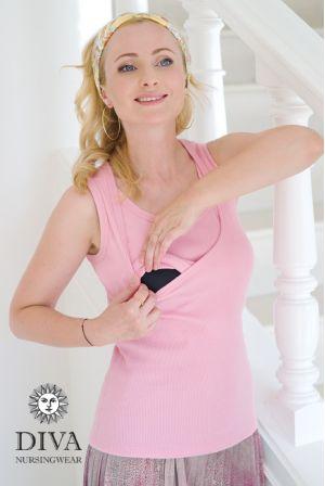 Топ Diva Nursingwear Eva розовый