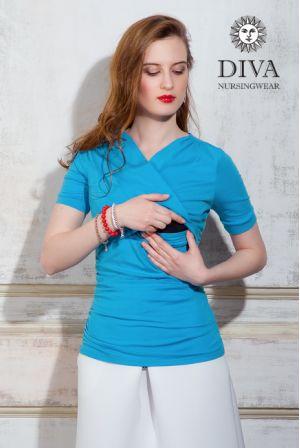Топ для кормящих  Diva Nursingwear Lucia, цвет Celeste