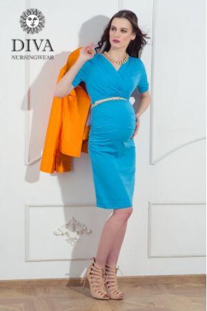 Платье для беременных Diva Nursingwear Lucia, цвет Celeste
