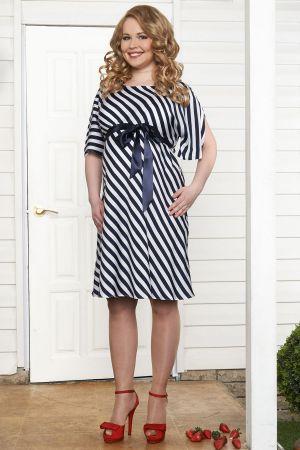 Летнее платье для беременных Маринелла