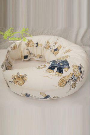 """Подушка для кормления Velina """"Мишки"""""""