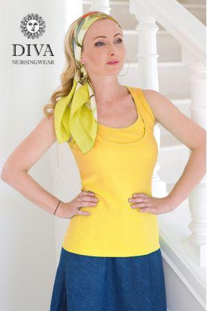 Топ для беременных и кормления Diva Nursingwear Eva, цвет Limone