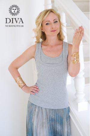 Топ Diva Nursingwear Eva, цвет Nebbia