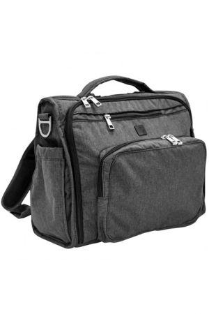 Сумка рюкзак для мамы Ju-Ju-Be B.F.F. Onyx Chrome