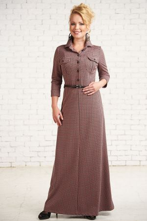 Платье для кормящих мам Кастелло