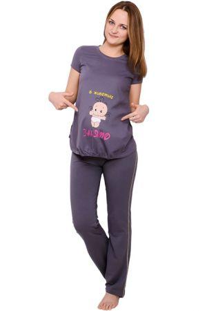Оригинальная футболка для беременных