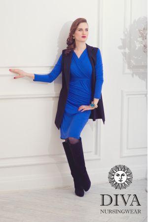 Платье для кормящих Diva Nursingwear Lucia, цвет Azzurro